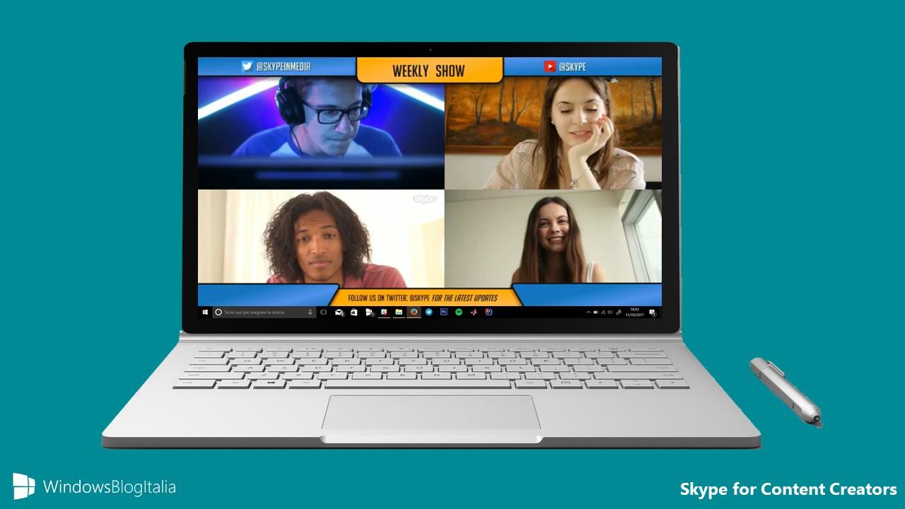 Skype for Content Creators