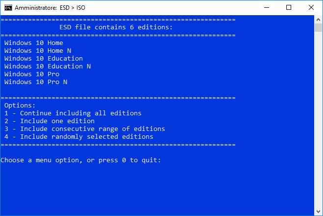 Creare ISO Spring Creators Update ESD Decrypter 1