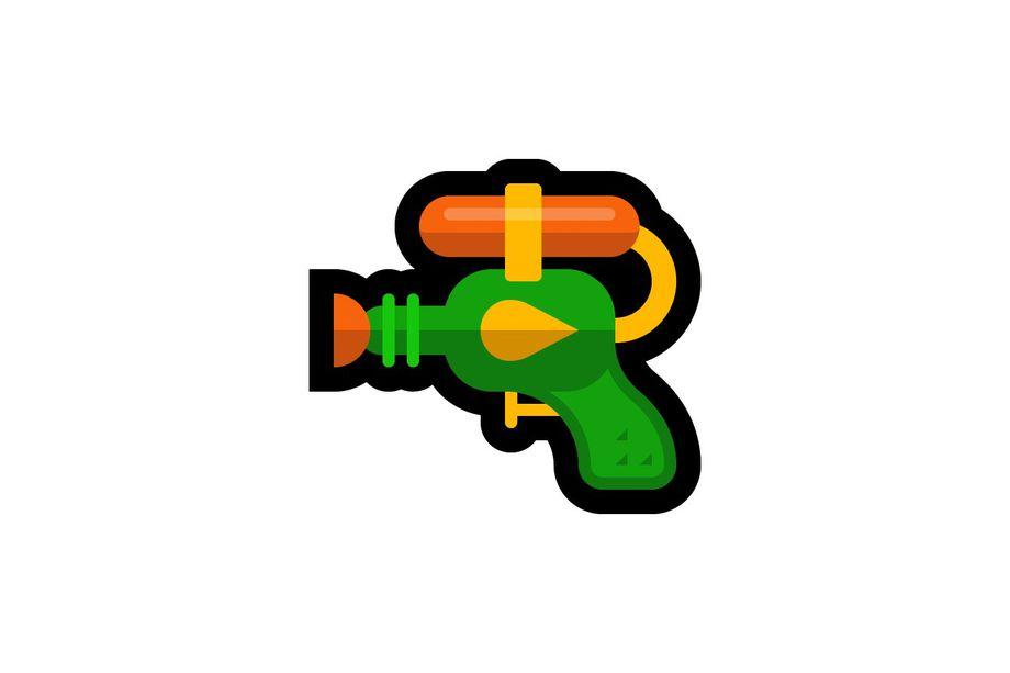pistola ad acqua emoji