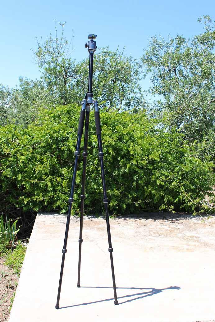 Treppiedi Aukey CP-T06 altezza massima