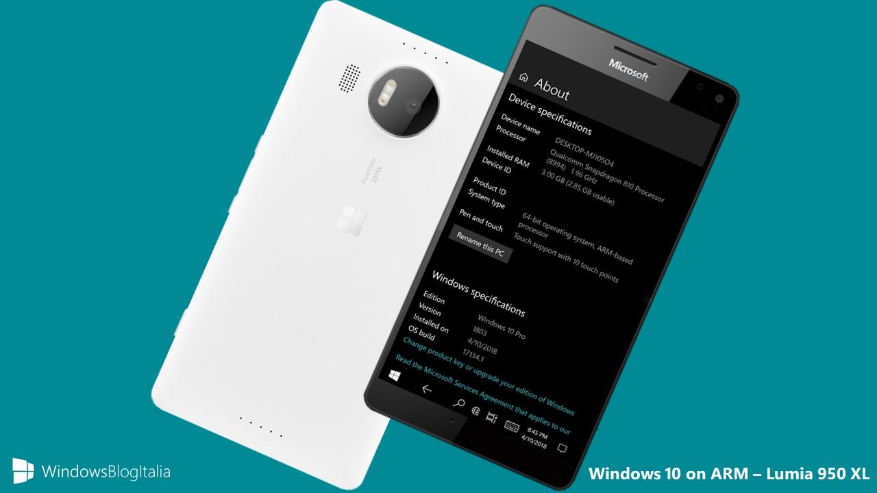 video] Come installare Windows on ARM sui Lumia 950 e 950 XL