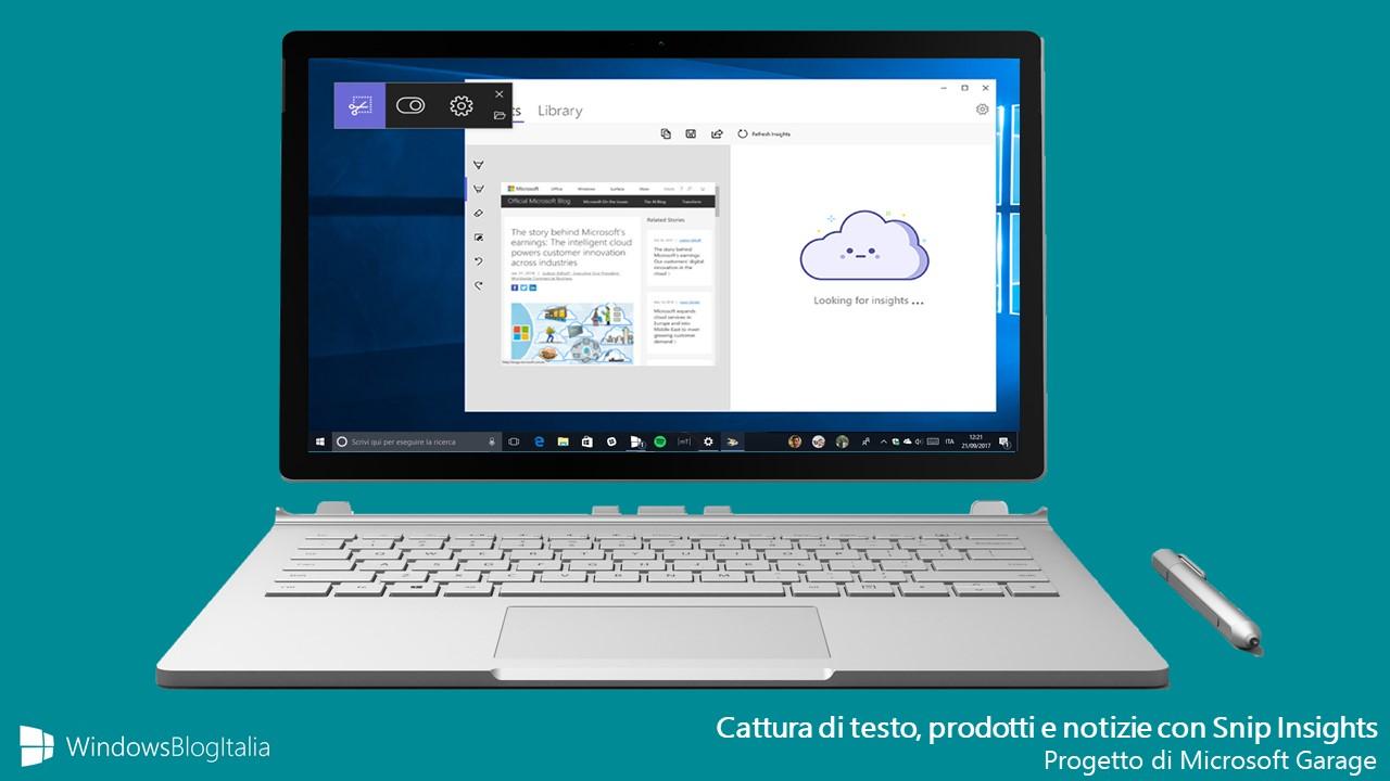 Progetto di Microsoft Garage