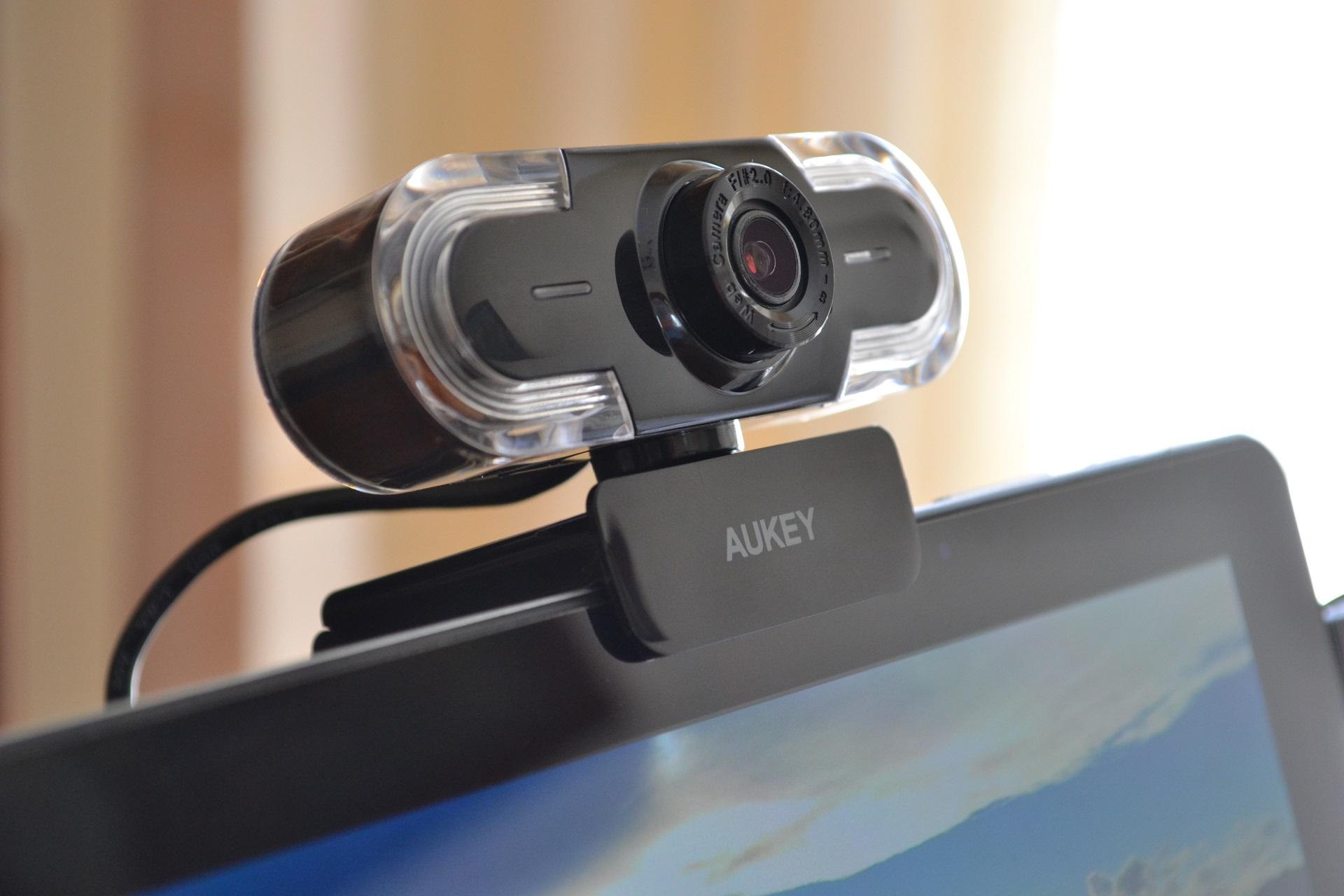 Webcam 2K Aukey hero
