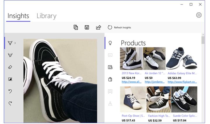 snip insights cattura testo da immagine