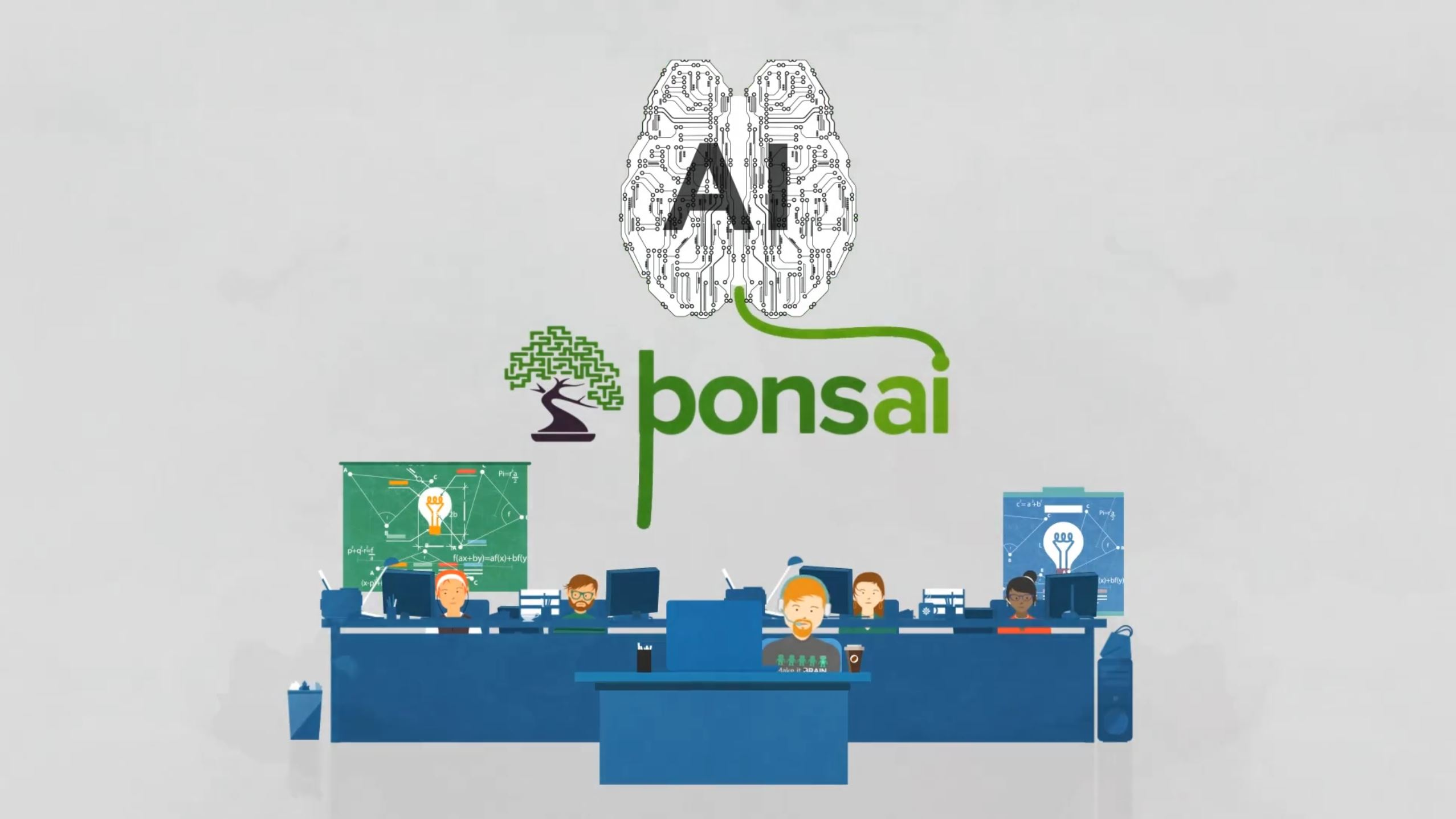 Bonsai Microsoft AI machine learning