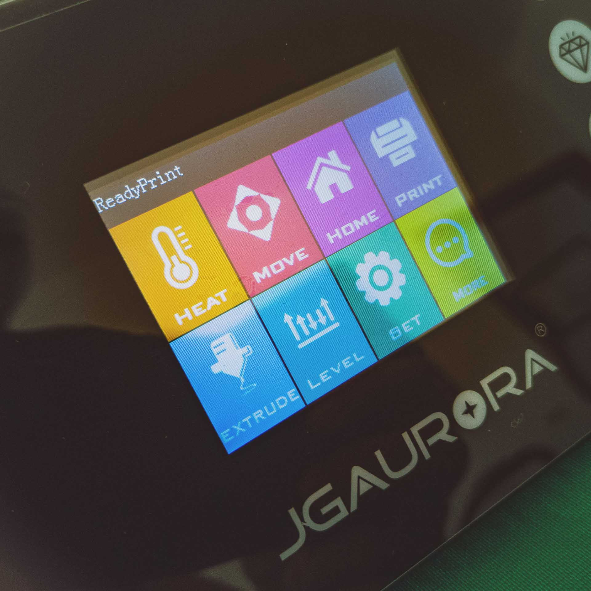 Display a colori JGAURORA A5