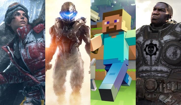 Esclusive Microsoft Minecraft Halo Xbox One