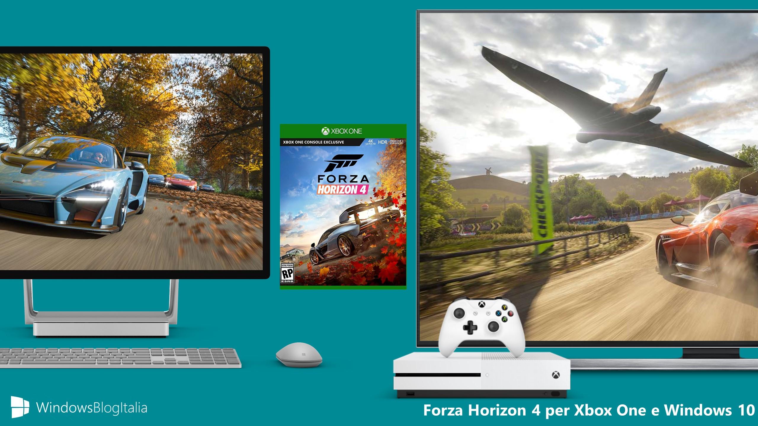 Forza Horizon 4 Xbox One PC Windows 10