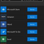 Microsoft Store Windows 10 Mobile app installate