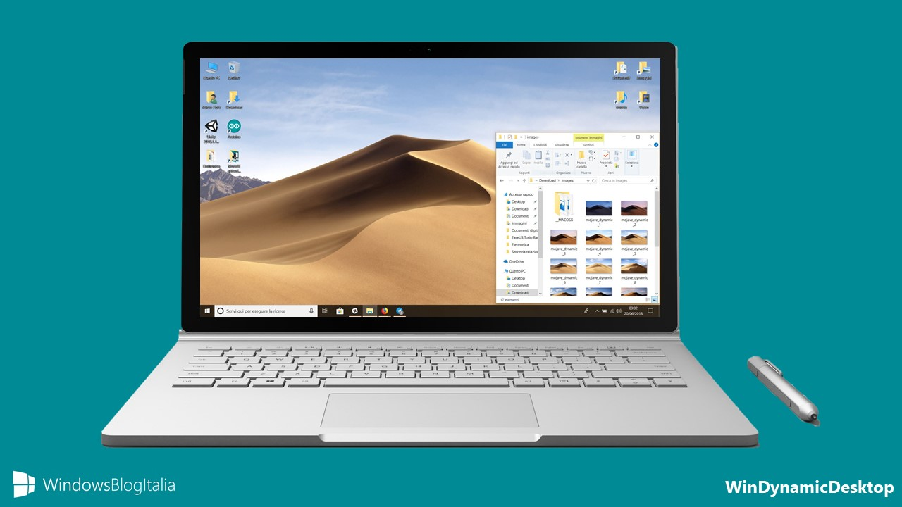WinDynamicDesktop sfondo dinamico su Windows 10