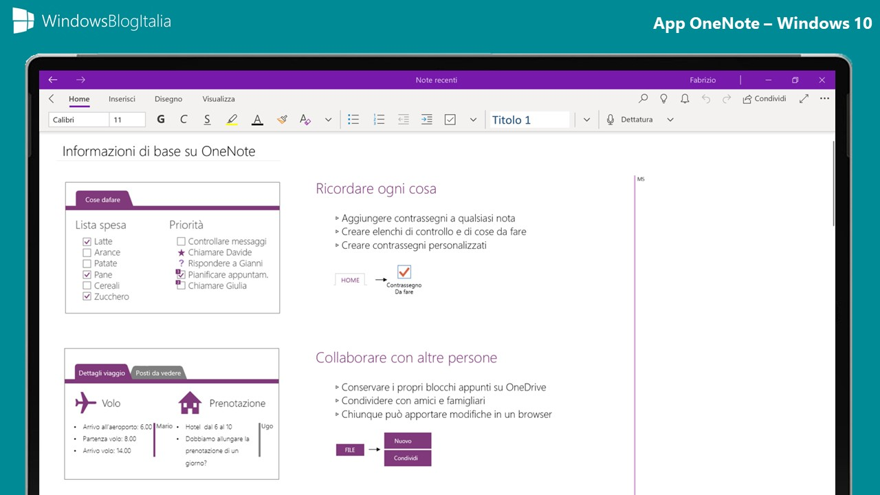 App OneNote 2019 - Windows 10