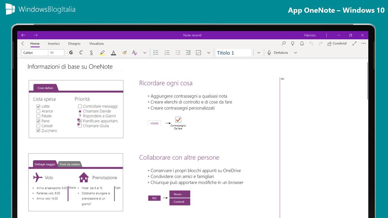 App OneNote 2019 - Windows 10