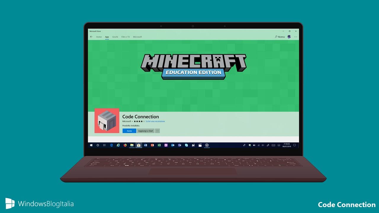 Code Connection, il plugin di Minecraft per studenti sbarca