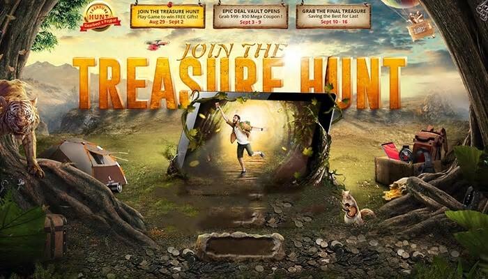 GearBest caccia al tesoro premi gratis promozioni