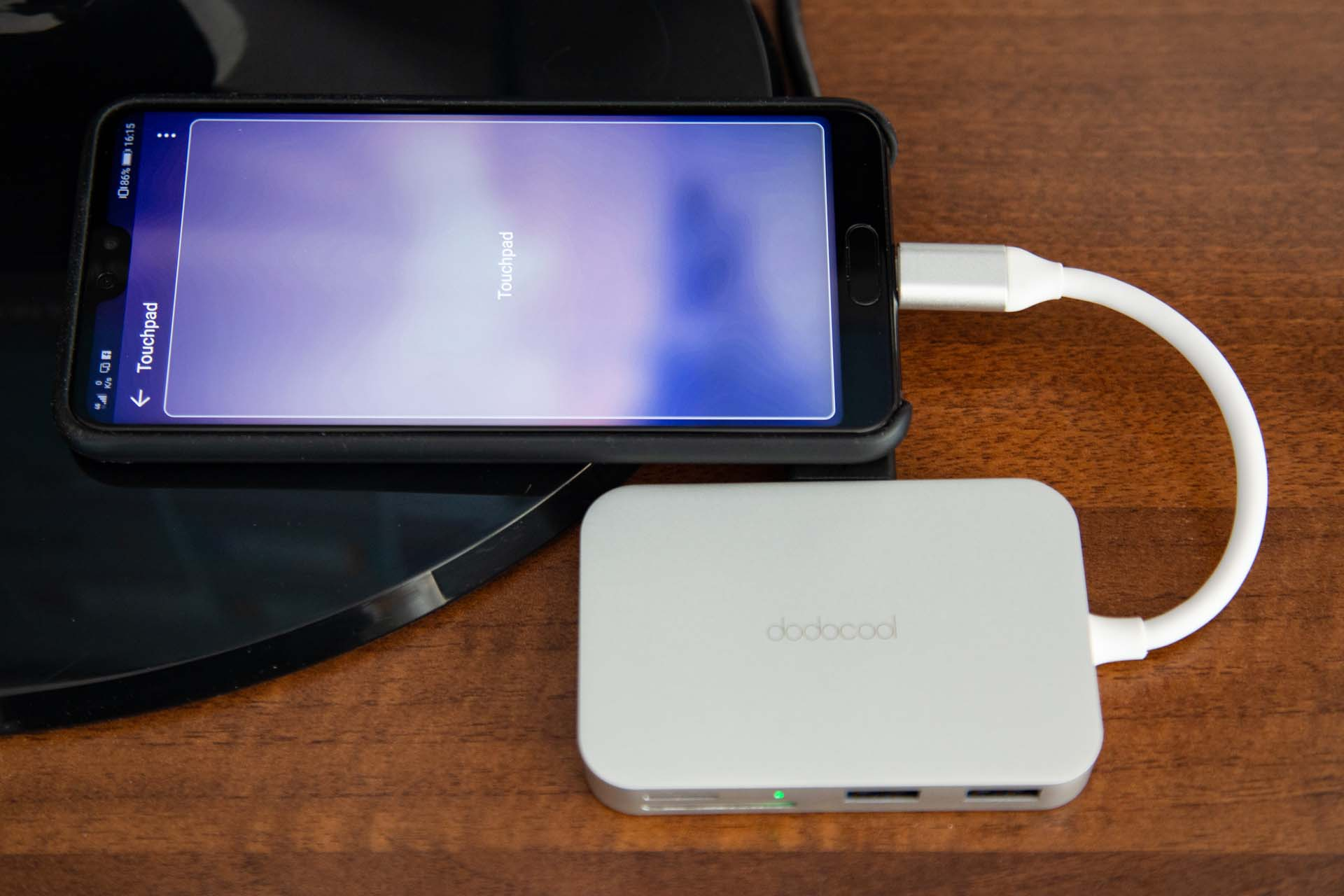 Hub USB Type-C Huawei P20