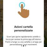 Microsoft Launcher 4.12 gesture personalizzate