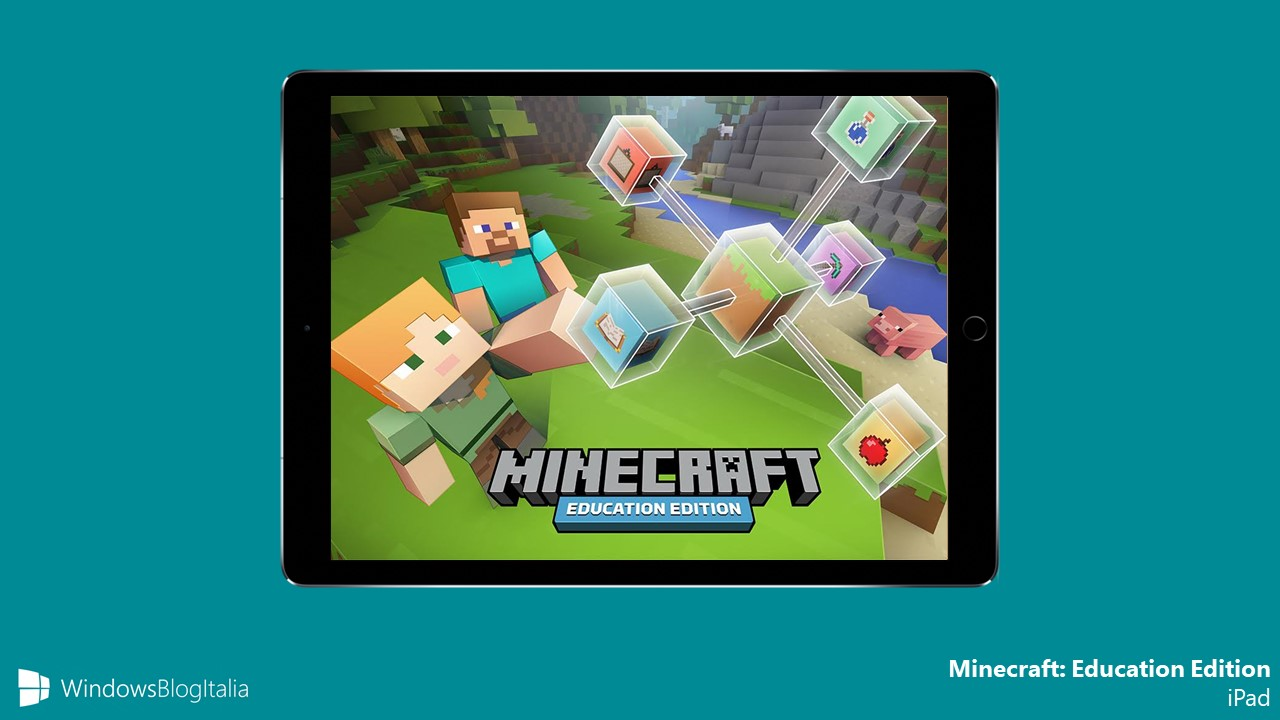 Microsoft Minecraft Education Edition iPad