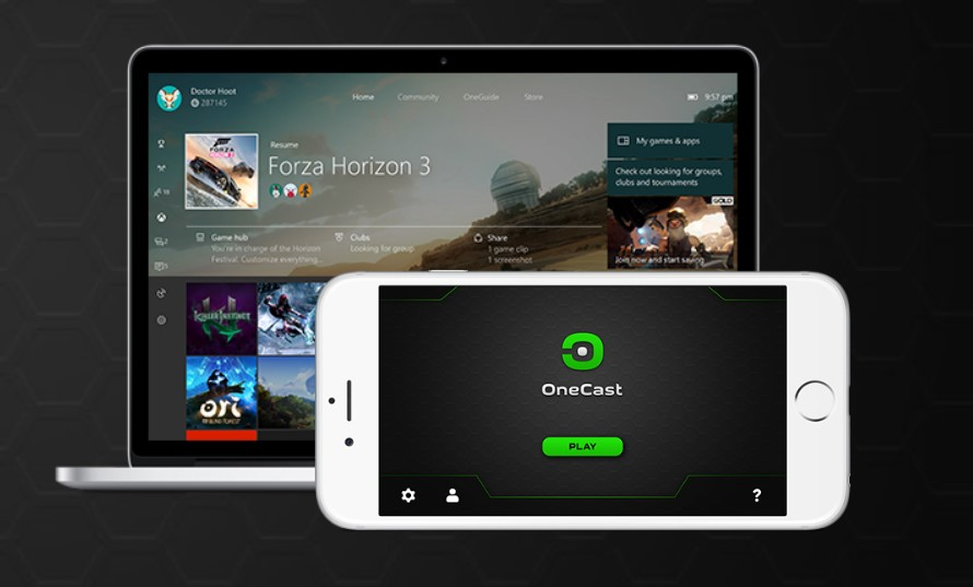 OneCast app iPhone iPad Mac giochi streaming Xbox One
