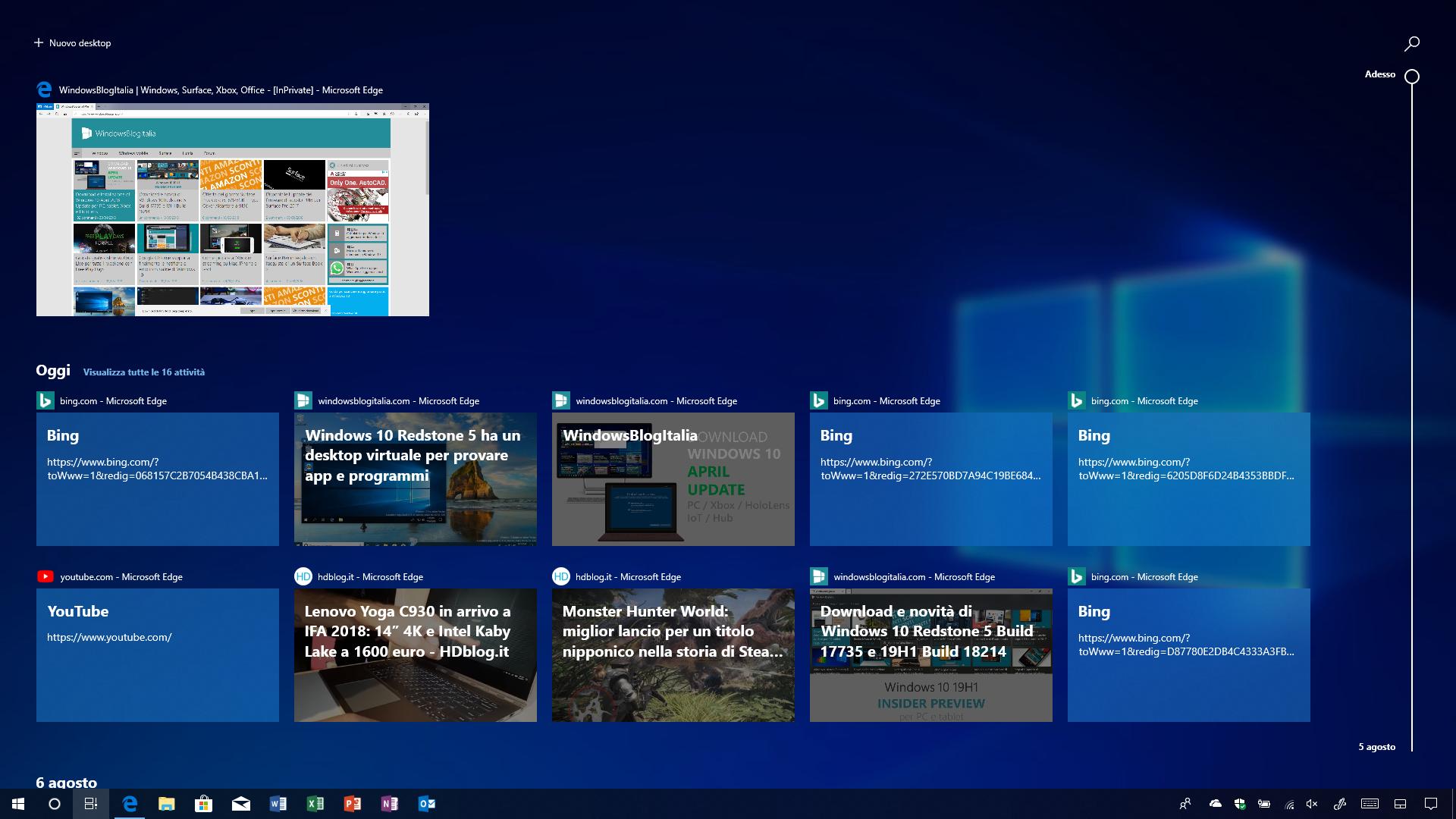Tutte le novità di Windows 10 October 2018 Update per PC e