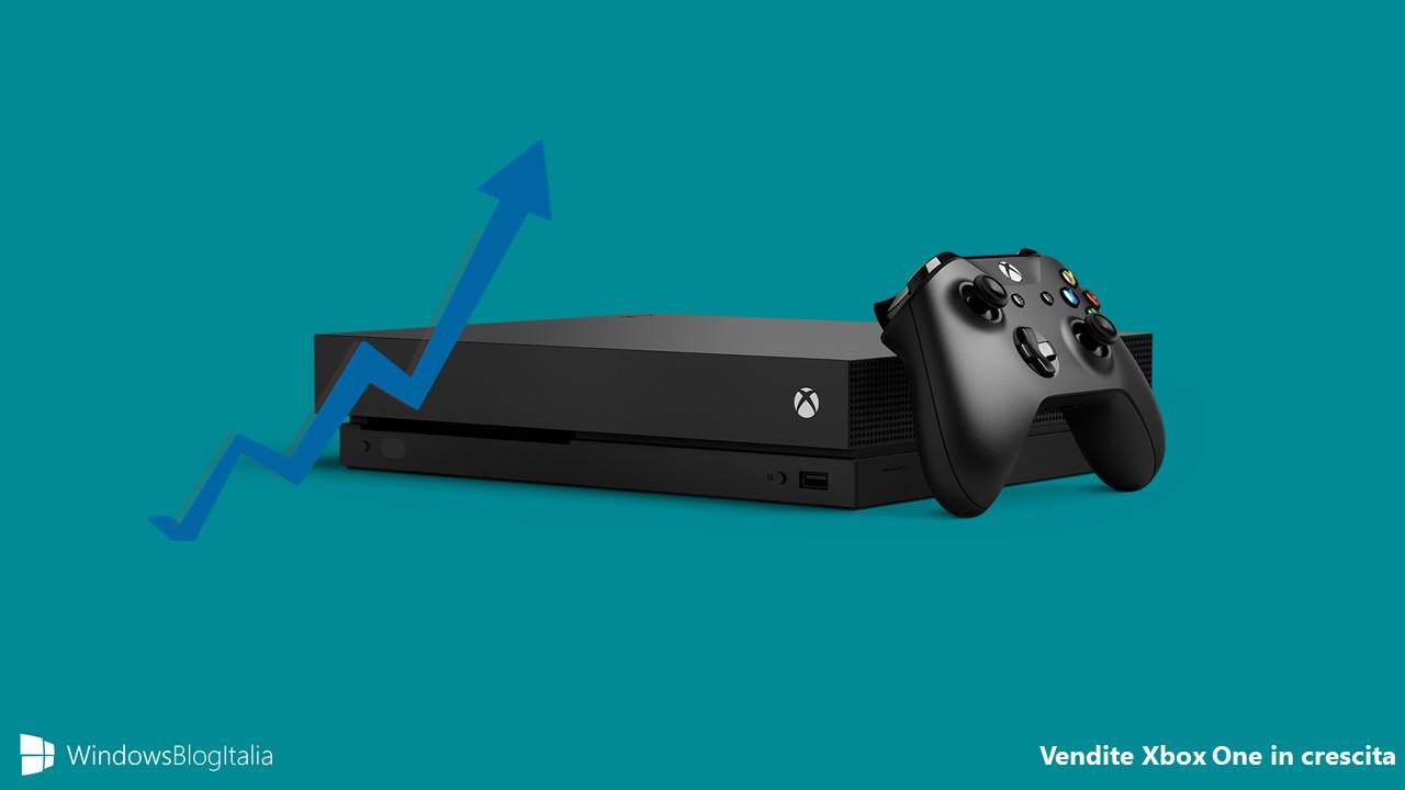 Vendite Xbox One crescita
