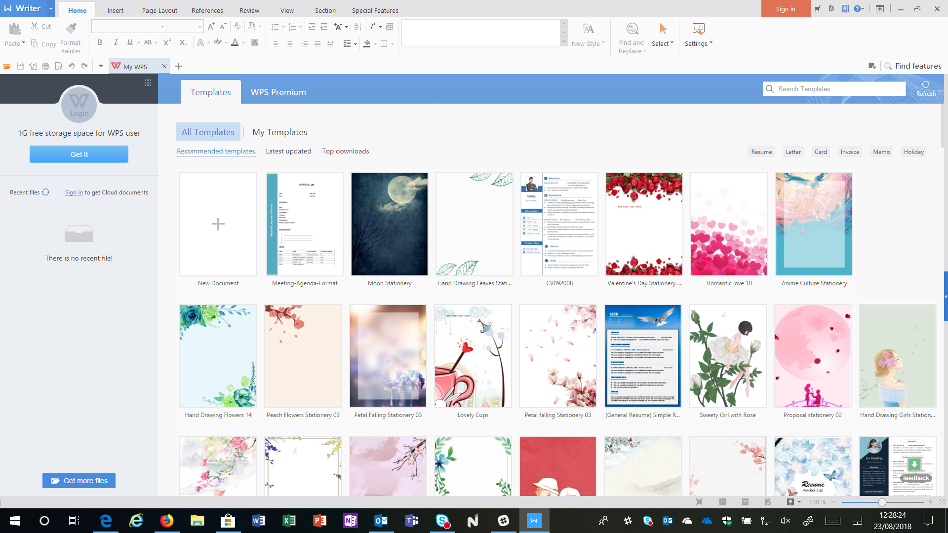 Download WPS Office, alternativa gratis a Microsoft Office per