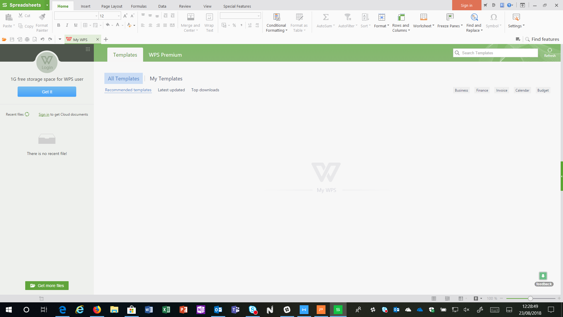 Download WPS Office, alternativa gratis a Microsoft Office per
