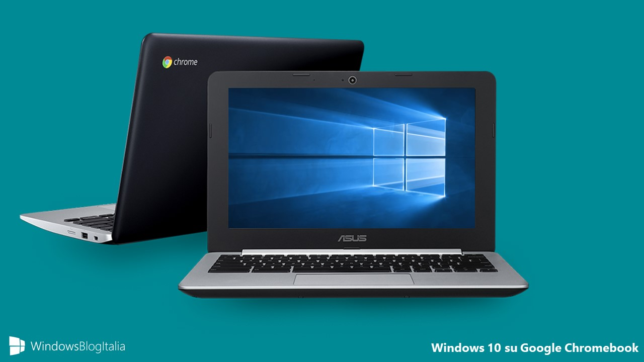 Windows 10 Google Chromebook