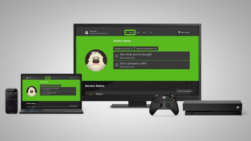 Xbox Assist supporto
