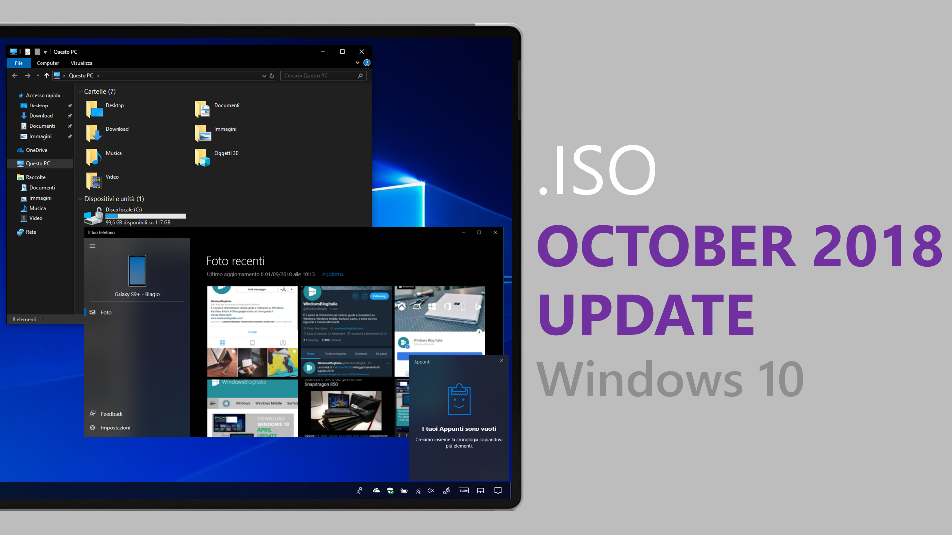 ISO Windows 10 October 2018 Update