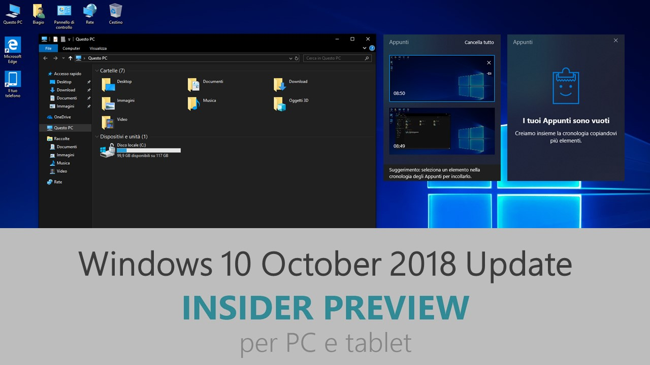 Windows 10 October 2018 - Redstone 5