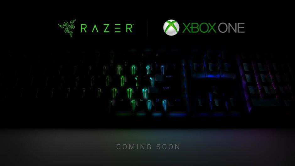 Supporto a mouse e tastiera Xbox One