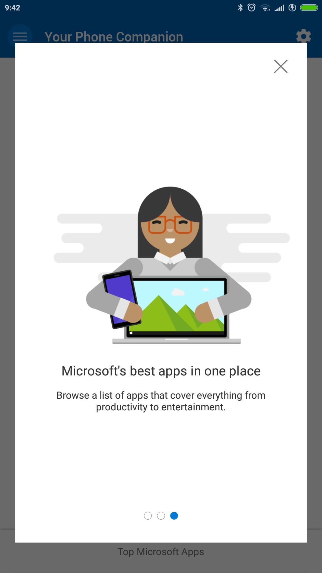 Your Phone Companion app Android novità 2