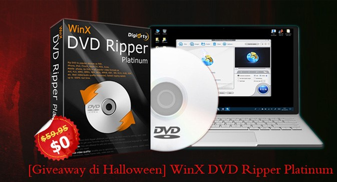 WinX DVD Ripper Platinum Halloween Giveaway