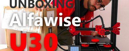 Alfawise U30 unboxing