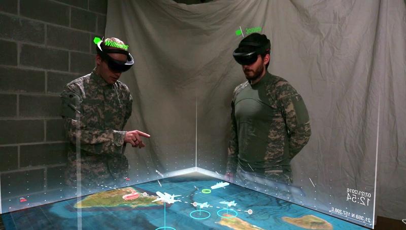 HoloLens esercito americano