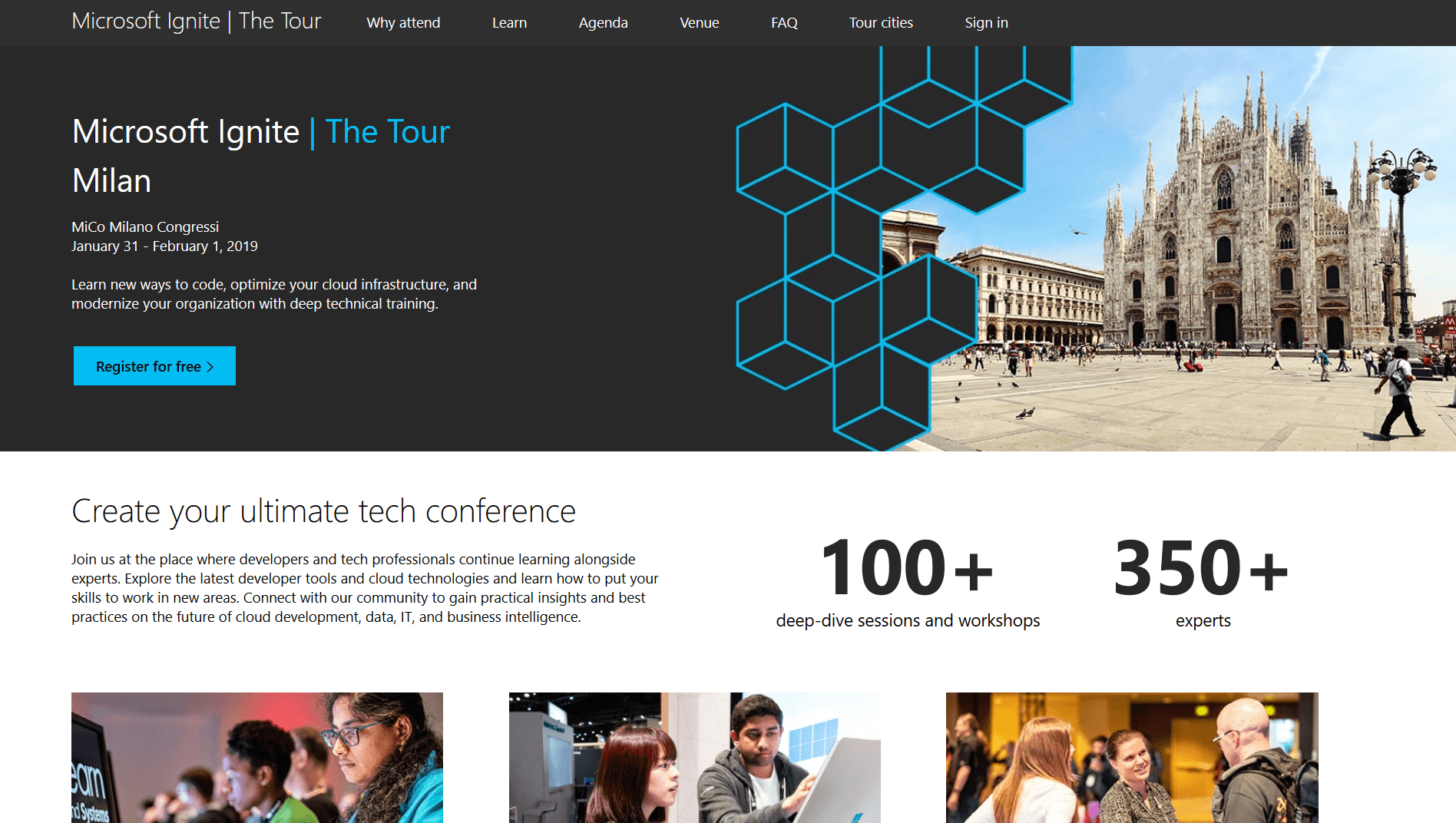 Microsoft Ignite | The Tour - Milan