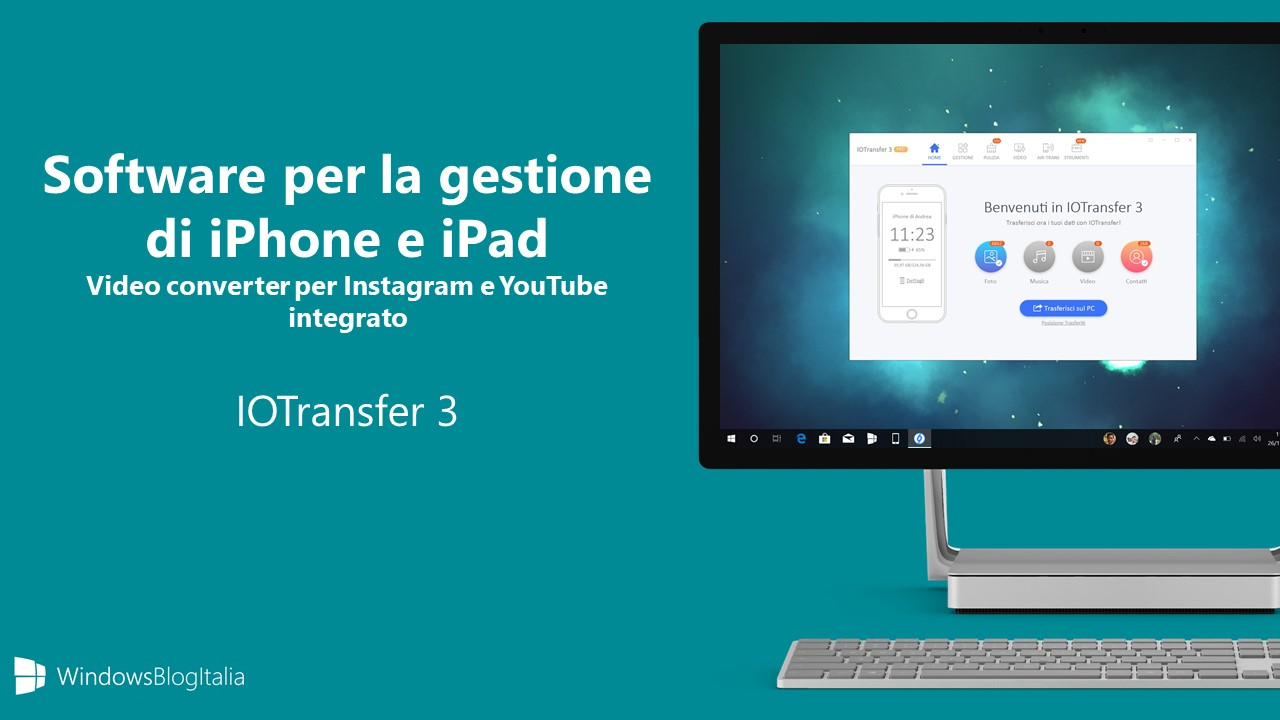Software gestione iPhone iPad IOTransfer 3