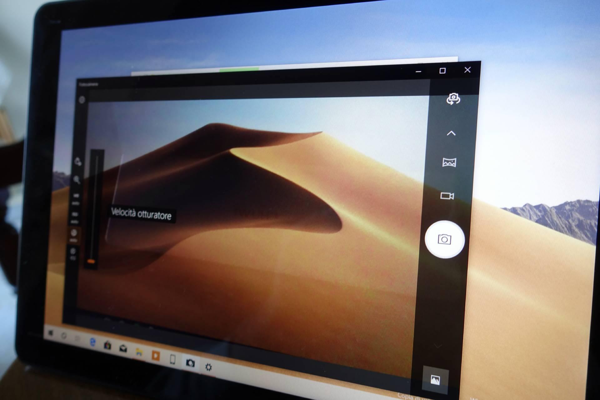 App Fotocamera Windows 10 nuova interfaccia