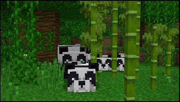 Minecraft Windows 10 Xbox One panda