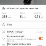 Huawei Health app gestione Honor Band 4