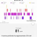 Huawei Health app monitor sonno