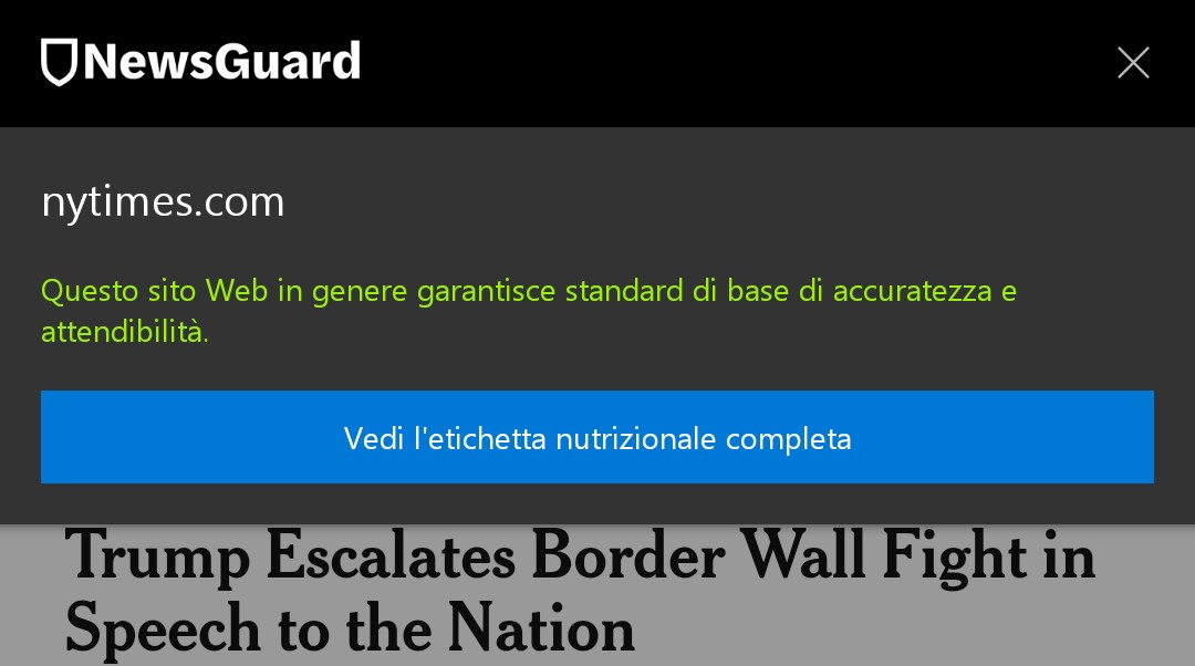Microsoft Edge Android NewsGuard