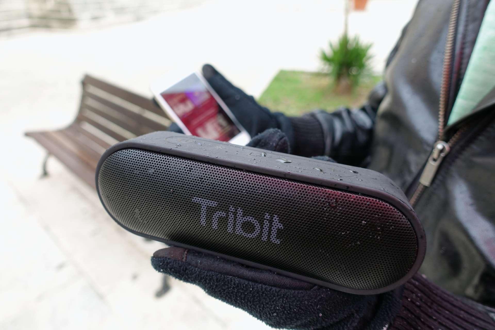 Tribit XSound Go design