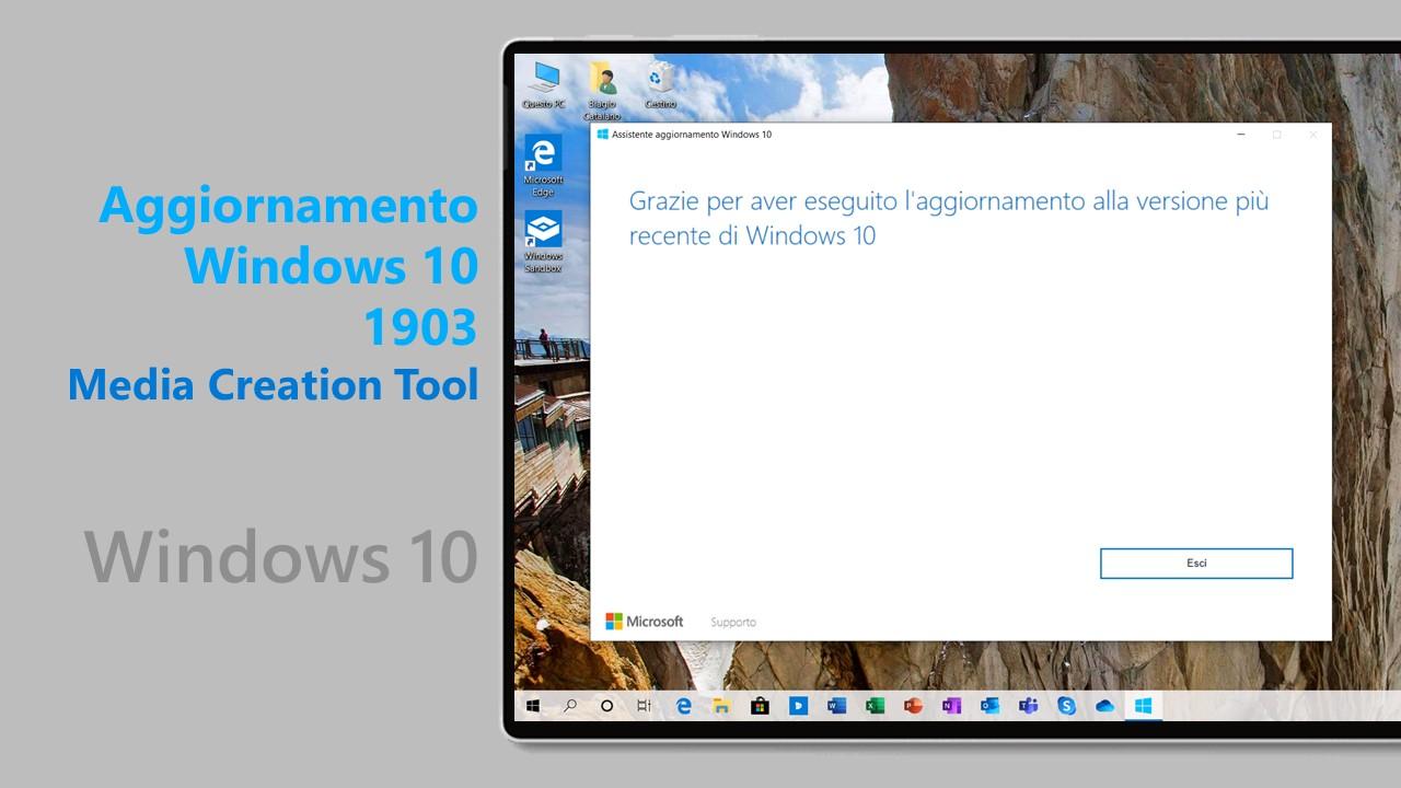 Windows 10 Media Creation Tool For Version 1903 - iTechtics