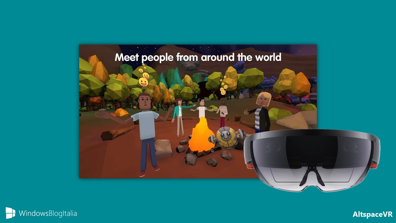 AltspaceVR app community realta mista Windows 10