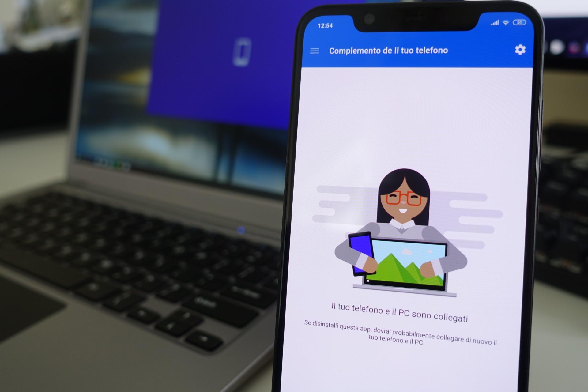 Complemento de Il tuo telefono Android