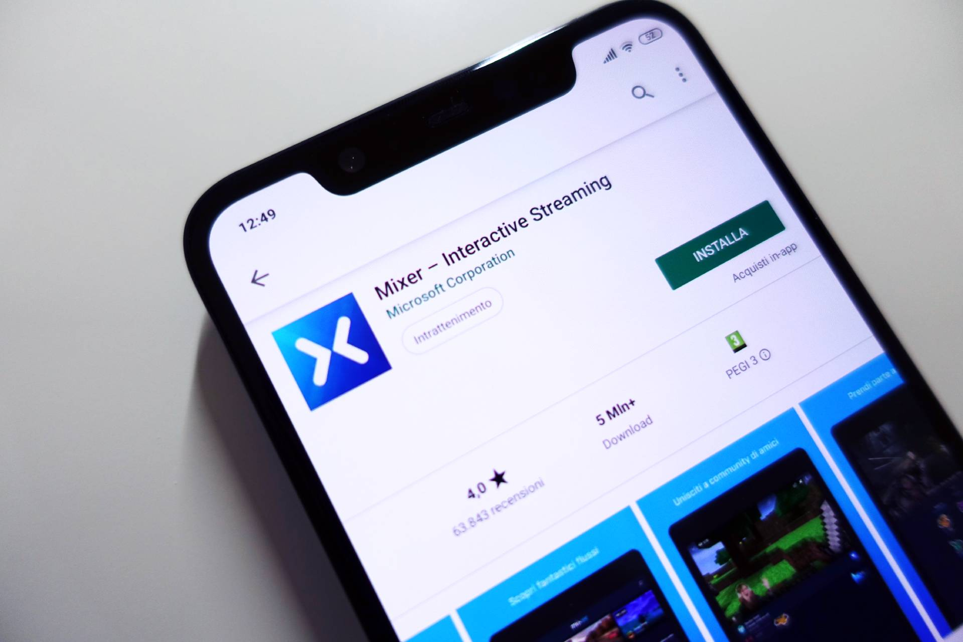 Microsoft Mixer app Android