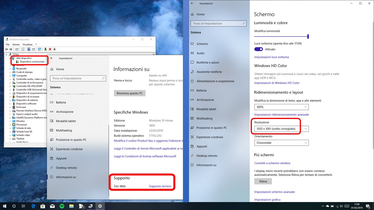 Problemi PC AIWO A737A1