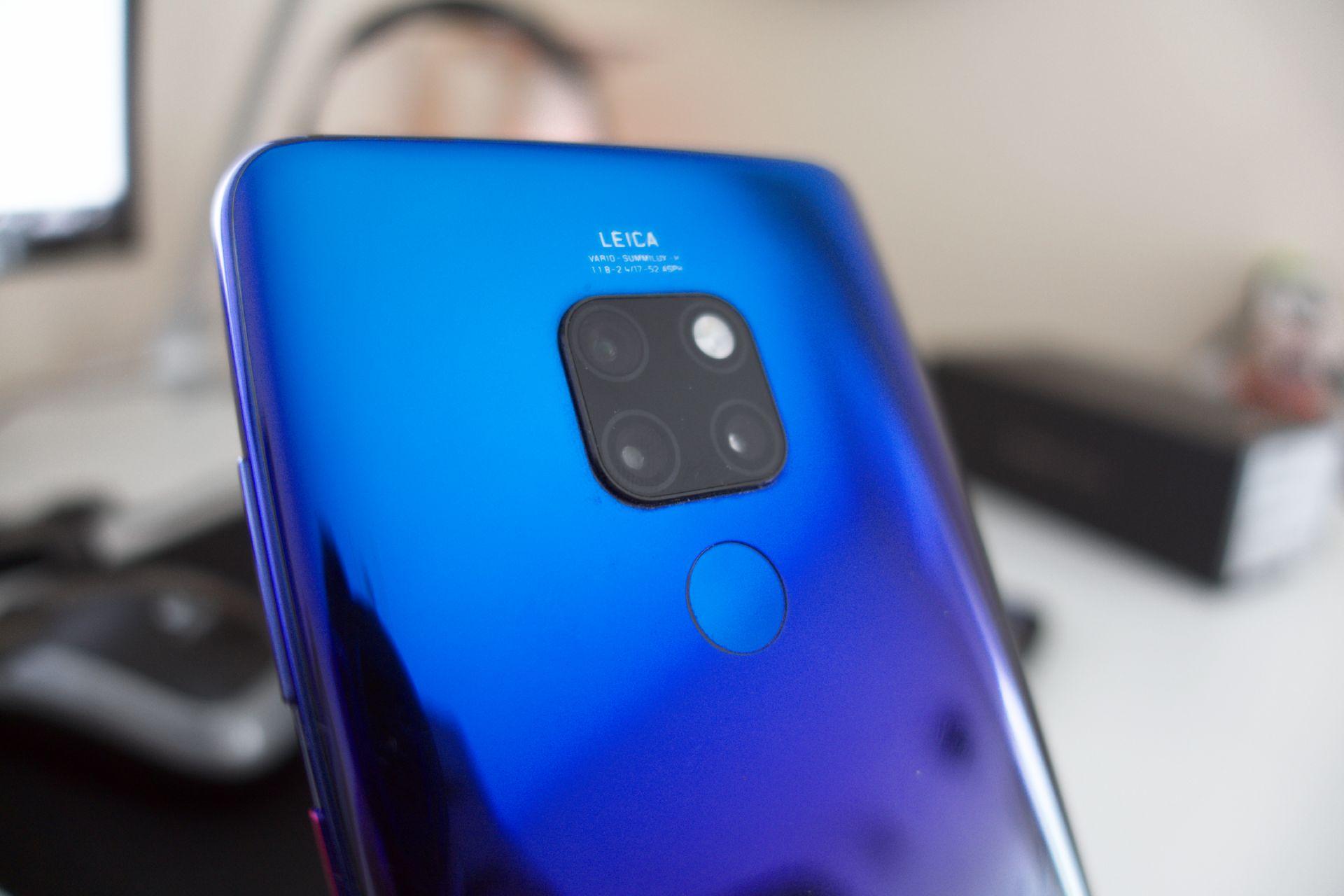 Huawei Mate 20 fotocamere posteriori