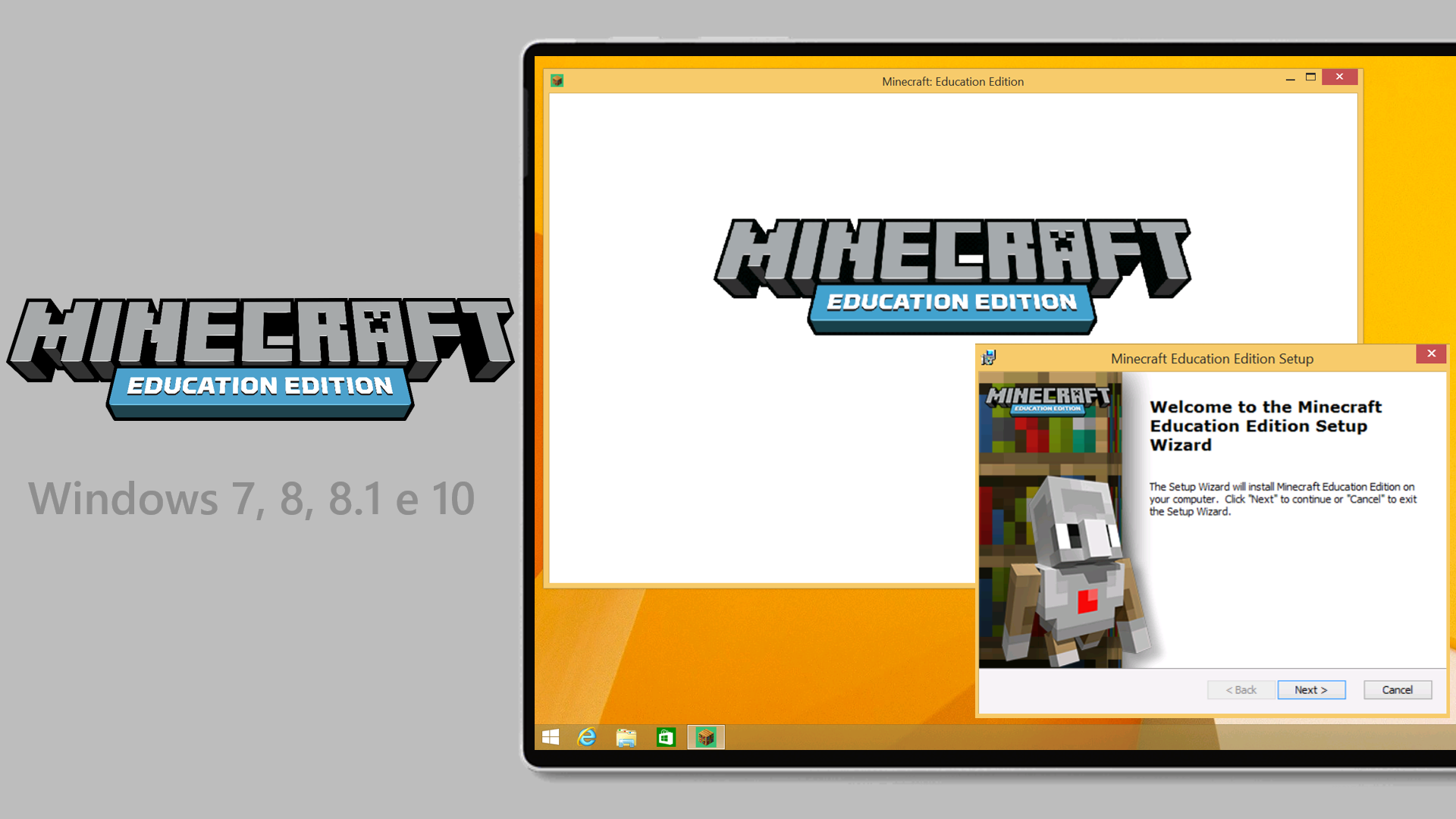 Minecraft: Education Edition per Windows 7, 8, 8.1 e 10